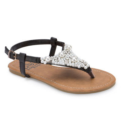 Olivia Miller Vitreais Girls Strap Sandals - Little Kids/Big Kids