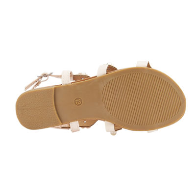 Olivia Miller Comte Girls Strap Sandals - Little Kids/Big Kids