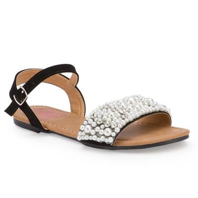 Olivia Miller Tuile Girls Strap Sandals - Little Kids/Big Kids
