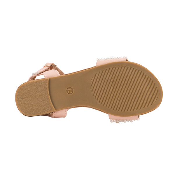 Olivia Miller Tuile Girls Strap Sandals - Little Kids/Big Kids