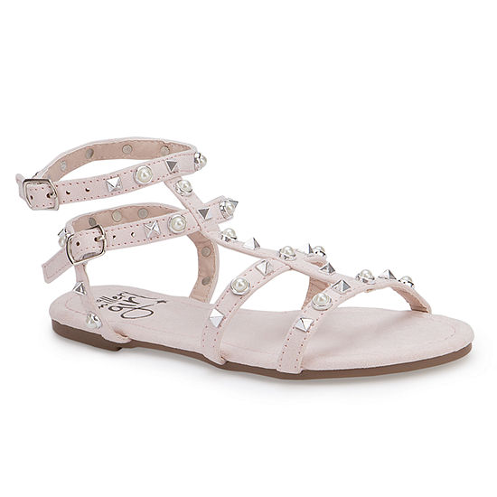 877fc97d8ade Olivia Miller Little Kid Big Kid Girls Orchidee Ankle Strap Gladiator  Sandals - JCPenney