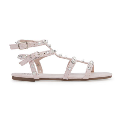 Olivia Miller Orchidee Girls Strap Sandals - Little Kids/Big Kids