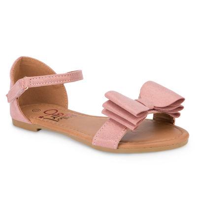 Olivia Miller Mimolette Girls Strap Sandals - Little Kids/Big Kids