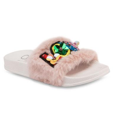 Olivia Miller Chatoyer Girls Slide Sandals - Little Kids/Big Kids