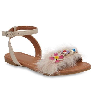 Olivia Miller Calisson Girls Strap Sandals - Little Kids/Big Kids