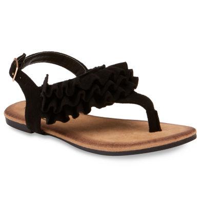 Olivia Miller Navette Girls Strap Sandals - Little Kids/Big Kids
