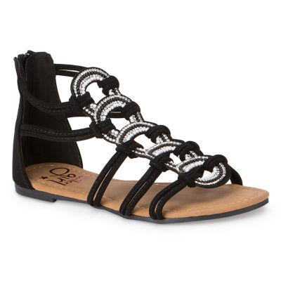 Olivia Miller Lys Girls Strap Sandals - Little Kids/Big Kids