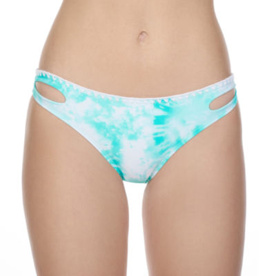 Arizona Tie Dye Hipster Swimsuit Bottom-Juniors