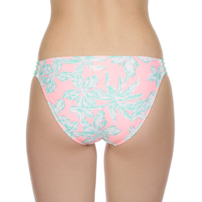 Arizona Leaf Hipster Swimsuit Bottom-Juniors