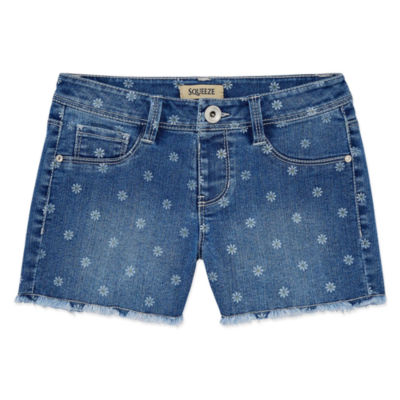 Squeeze Denim Shorts - Big Kid Girls