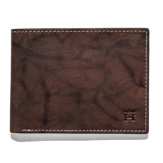 Haggar® Antique Leather Passcase Wallet