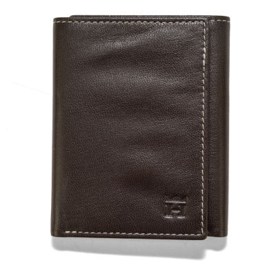 Haggar® Smooth Leather Tri-Fold Wallet