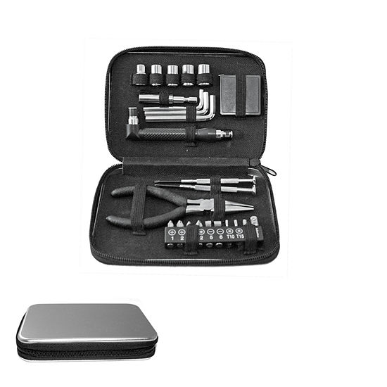 Natico 24 Pc Tool Kit Carry Case