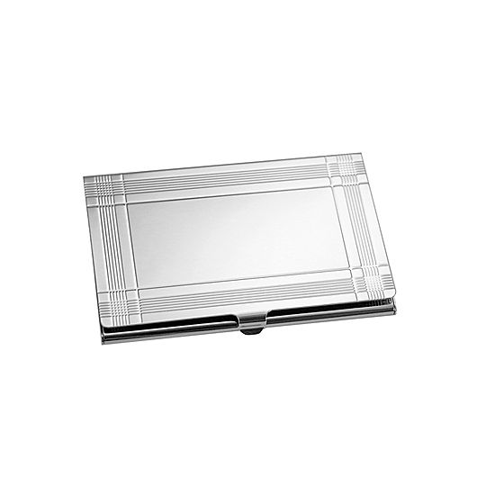 natico silver business card holder - Silver Business Card Holder