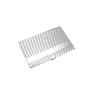 Natico Silver Business Card Holder