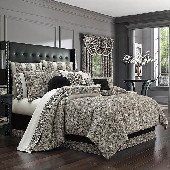 Queen Street Carleigh 4-pc. Comforter Set