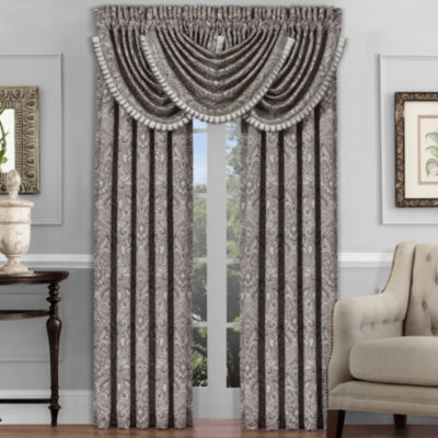 Queen Street Carleigh 2 Pair Rod-Pocket Curtain Panels