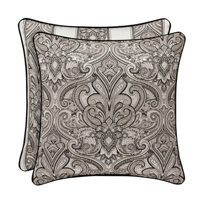 Queen Street Carleigh 20 Inch Square Throw Pillow