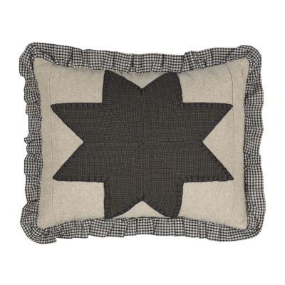Ashton And Willow Liberty Stars Patchwork 14x18 Lumbar Pillow