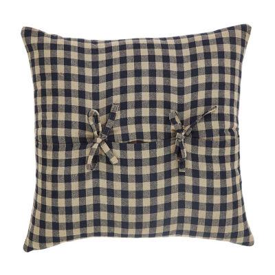 Ashton And Willow Cody Black Burgundy 16x16 Throw Pillow