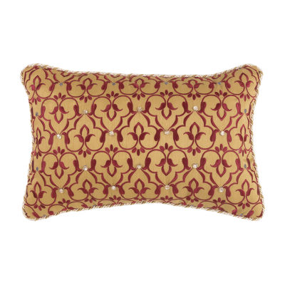 Croscill Classics Arden 18x12 Boudoir Throw Pillow