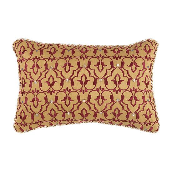 Croscill Classics Arden 18x12 Boudoir Throw Pillow