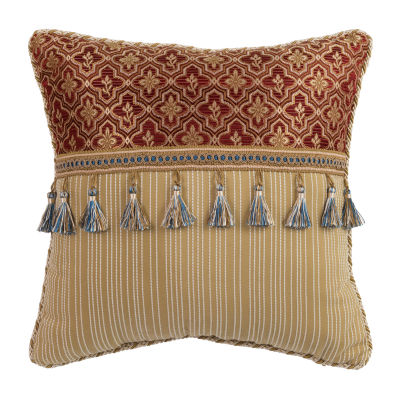 Croscill Classics Arden 16x16 Square Throw Pillow