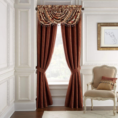 Croscill Classics Arden Light-Filtering Rod-Pocket Curtain Panel