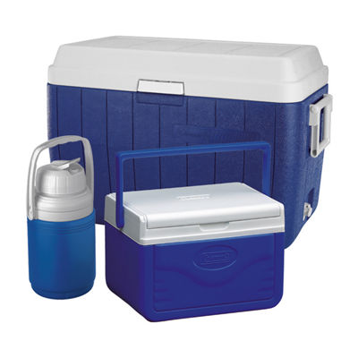 Coleman 3-Piece Cooler Combo (54-Quart, 5-Quart, 1/3 Gallon)