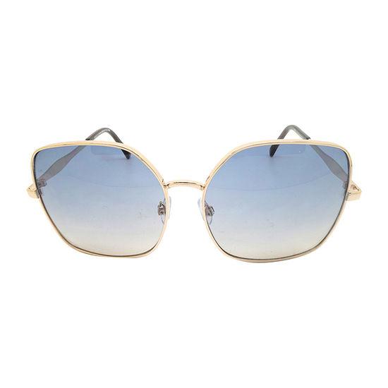 Fantas Eyes Womens Heiress Full Frame Square UV Protection Sunglasses