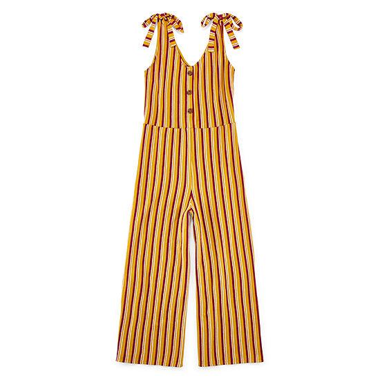 Arizona Sleeveless Jumpsuit-Juniors