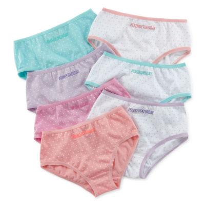 Okie Dokie Od 7pk Brief 7-pc. Brief Panty Girls