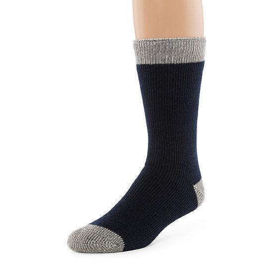 St. John's Bay Crew Socks-Mens
