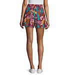 Arizona Womens High Waisted Soft Short-Juniors