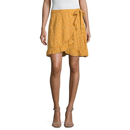 Arizona Short Wrap Skirt-Juniors