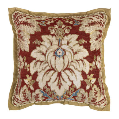 Croscill Classics Arden 18x18 Square Throw Pillow