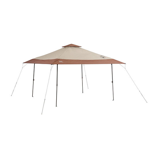 Coleman 13 x 13 Instant Pop-Up Canopy Sun Shelter with Eaves