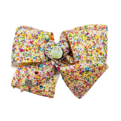 JoJo Siwa Sprinkle Print 16th Birthday Bow Cupcake Heart Motif