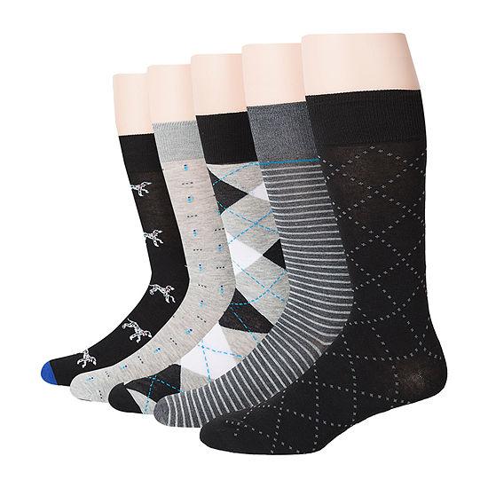 Stafford 5 Pack Mens Cotton Rich Crew Socks