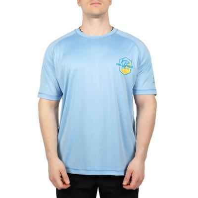 Realtree Mens Crew Neck Short Sleeve Moisture Wicking T-Shirt