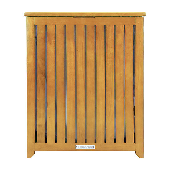 Oceanstar® Spa-Style Bamboo Hamper