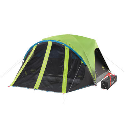 Coleman 4-Person Dark Room Dome Tent with Screen Room