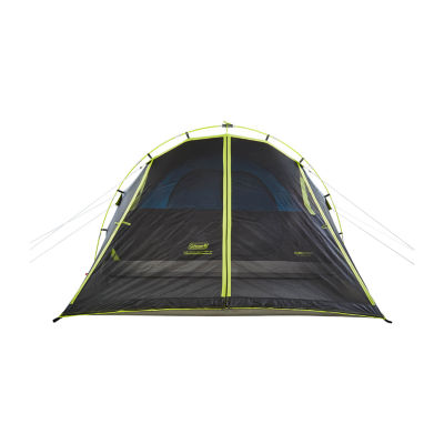 Coleman 6-Person Dark Room Fast Pitch Dome Tent with Screen Room
