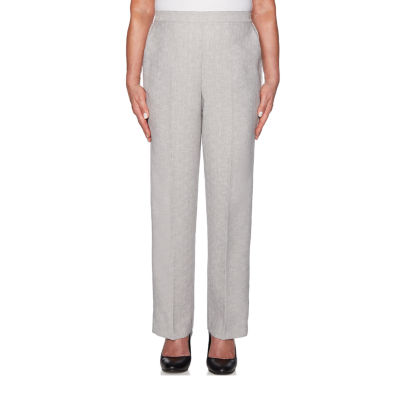 Alfred Dunner Versailles Womens Straight Pull-On Pants