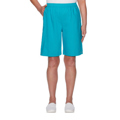 Alfred Dunner Waikiki Womens Pull-On Short