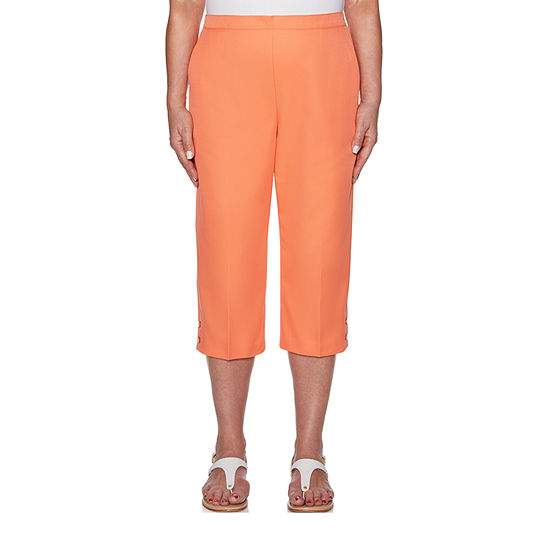 Alfred Dunner Martinique High Waisted Capris