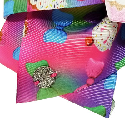 JoJo Siwa Rainbow 16th Birthday Bow with Lightup Cupcake and Bow Print