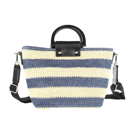 Olivia Miller Stripe Tote Bag