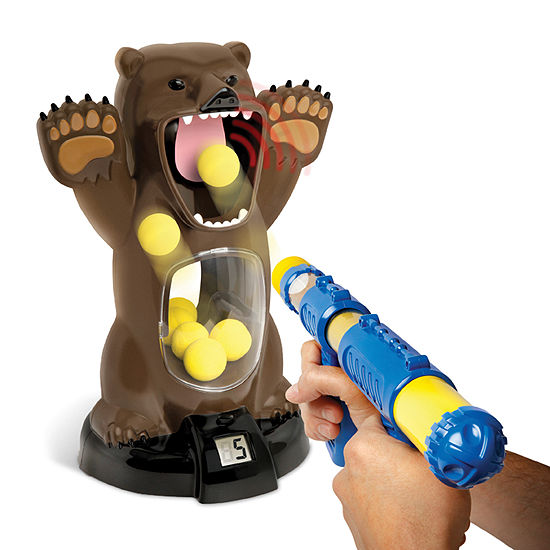 The Black Series Bear Shooting With Sound 10-pc. Table Game