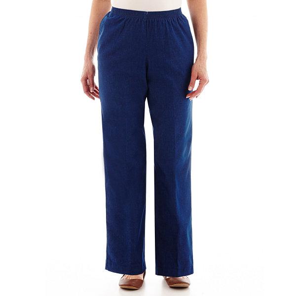 Alfred Dunner® Denim Pull On Pants